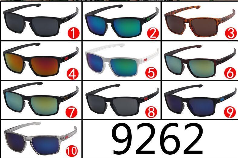9262 Outdoor Sports Sunglasses Men Women Brand Designer Quality Running/Fishing/Golf Sun Glasses