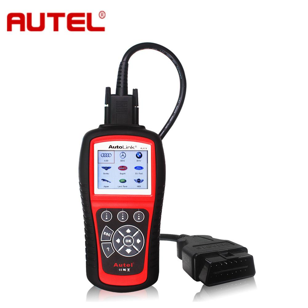 Original Autel Autolink Al619 Abs/Srs + Can Obdii Diagnostic Scan Tool Turn  Off Check Engine Light Clears Codes Resets Monitors Automotive Testing  Equipment ...