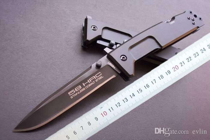 Atacado EXTREMA RATIO Nemesis faca dobrável 440C 58HRC Lâmina facas táticas ao ar livre Novo na embalagem da caixa original Collectable 4mm