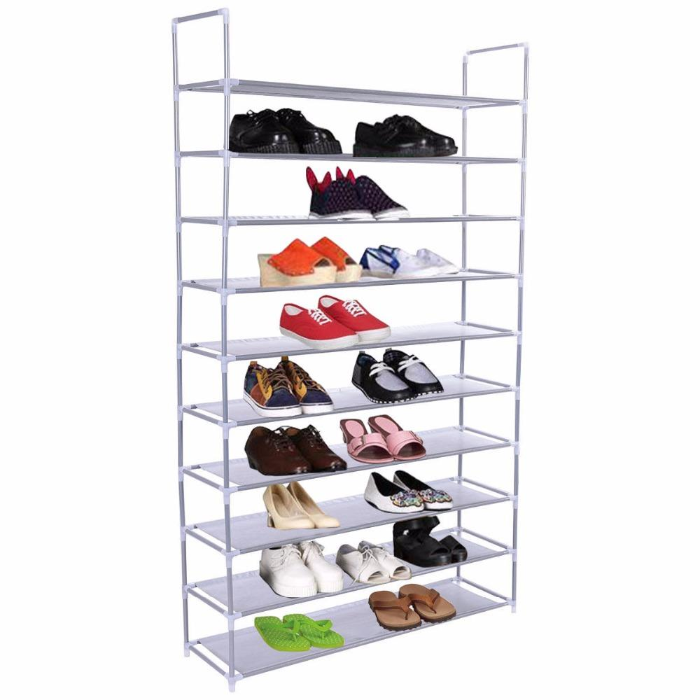 Compre 50 Pares De Zapatos De Neum Ticos 10 Estantes De La Casa  # Muebles Con Neum?ticos