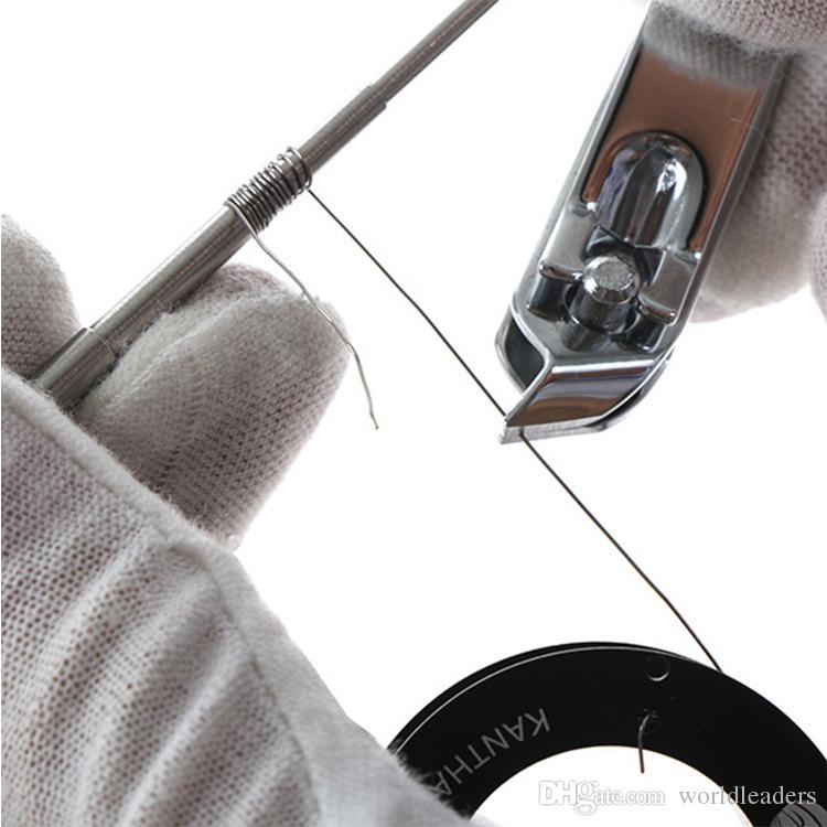DIY RDA Atomizador Bobina de Aço Inoxidável Coil Ferramenta SS Micro Coil Wick Jig Bobina De Embrulho