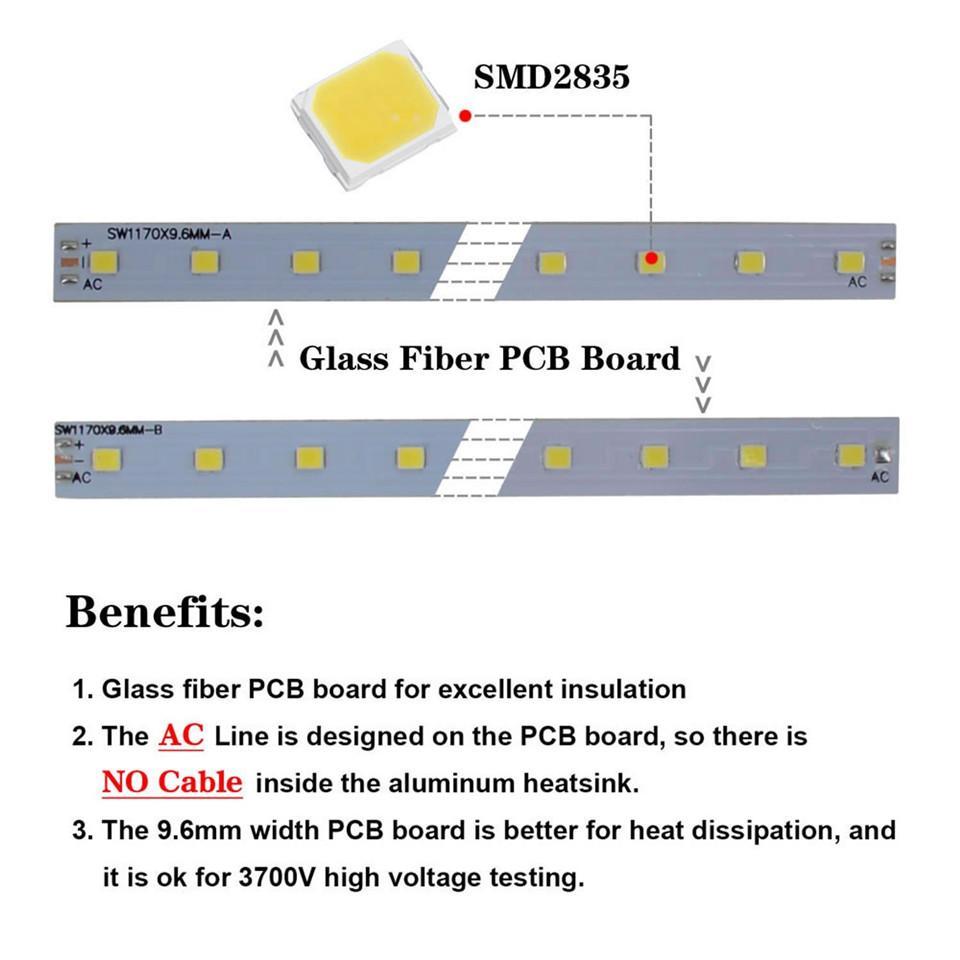 LED 관 빛 4ft 8ft V 모양 통합 LED T8 관 4 5 6 발 긴 LED 상점 빛 온난 한 백색 찬 백색 색깔