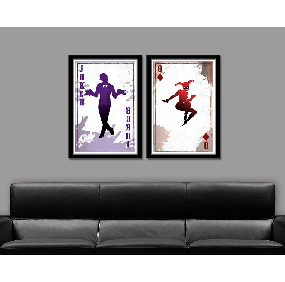 Best the joker harley quinnhome decor hd printed modern art best the joker harley quinnhome decor hd printed modern art painting on canvas unframedframed under 181 dhgate teraionfo