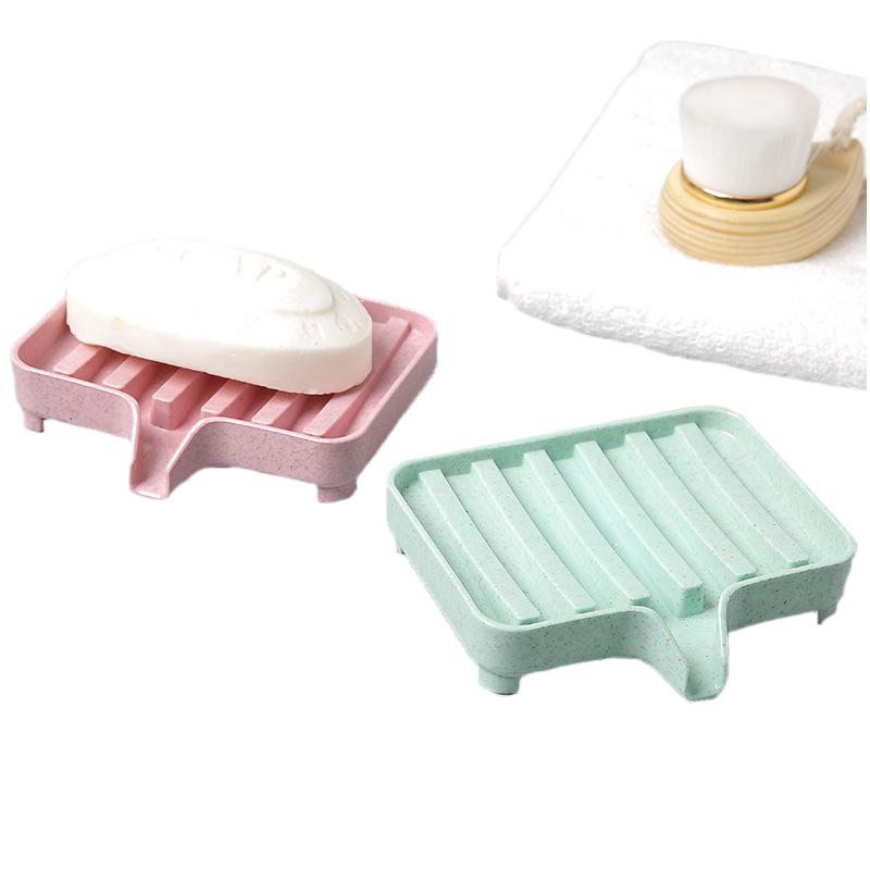 2018 Bathroom Drain Plastic Soap Dish Storage Holders Box Dishes Kitchen  Brush Drain Storage Holder Organizer Dishes From Tanguimei1, $4.41 |  Dhgate.Com