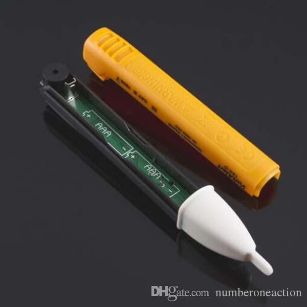 2016 Новое Прибытие высокое качество Бесконтактный Ручка YellowBL 90 ~ 1000 В ПЕРЕМЕННОГО ТОКА Электрический Датчик Питания Тестер Pen