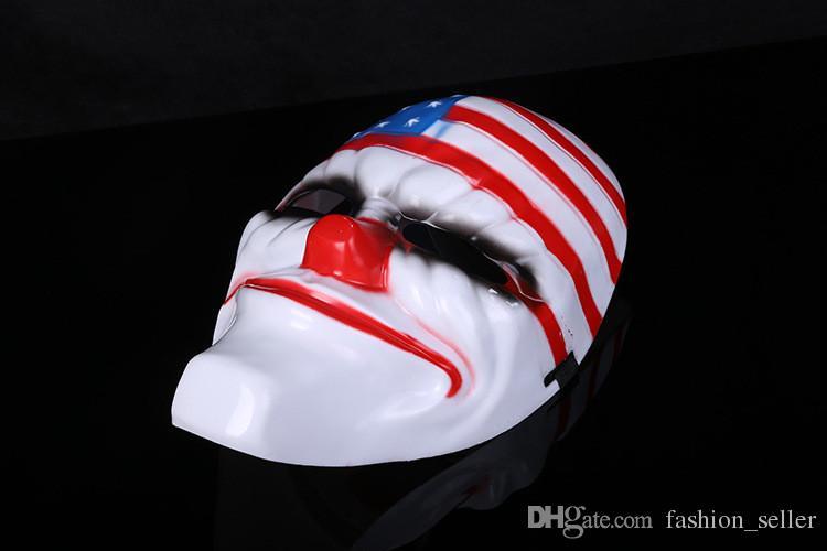 Moda Cadılar Bayramı Partisi Maskeleri Masquerade Maskeleri Okul Karikatür Cosplay Maskeleri için Hip-Hop Dans Dekorasyon Hızlı Kargo