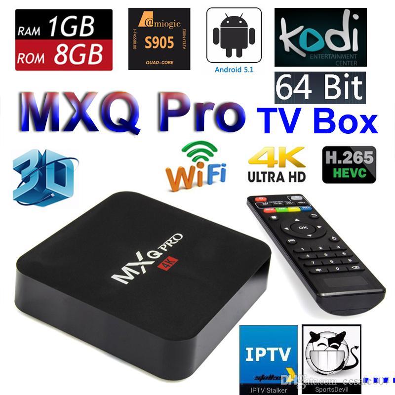 Fernsehen Im Internet S905w Mxq Pro Androider Fernsehkasten