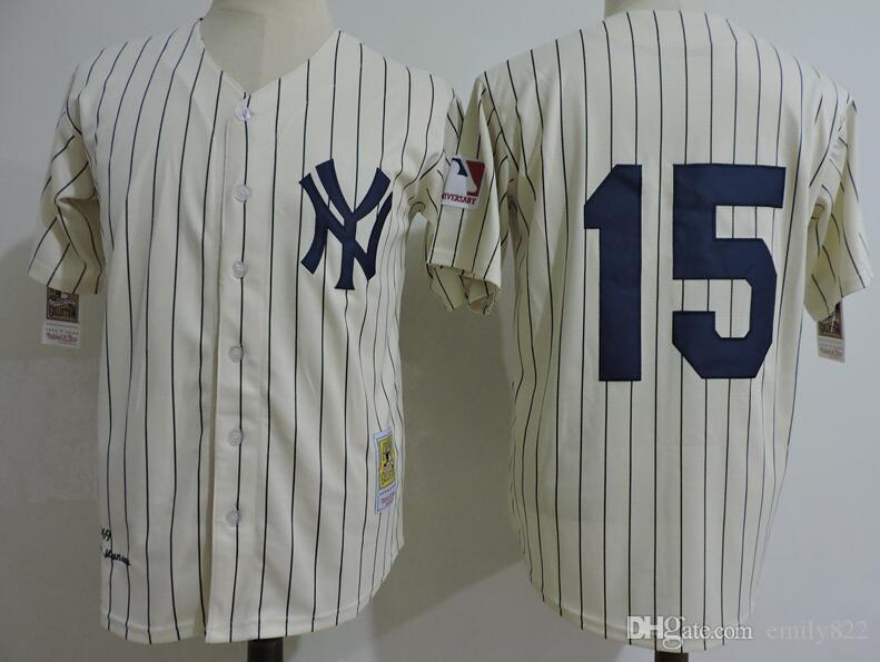 fbb175a7a81 ... Jersey Discount Mens New York Yankees 15 Thurman Munson Cream Pinstripe  1969 Throwback Cooperstown Collection Stitched MLB ...