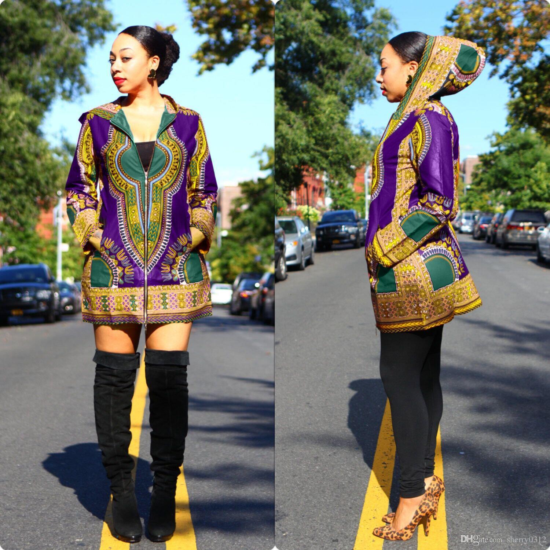 2017 spring africa women dashiki dress traditional hoodies dress