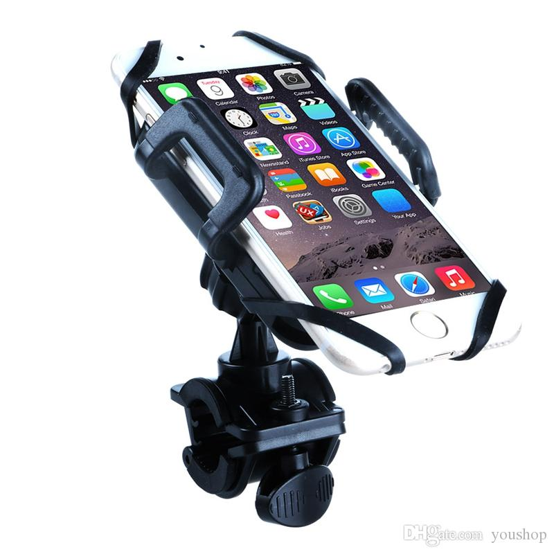 Universal Bike Mount Holder Smartphone Bicycle Handlebar Mount for iphone 6 6S 6S Plus for Samsung Galaxy S7 Edge S6