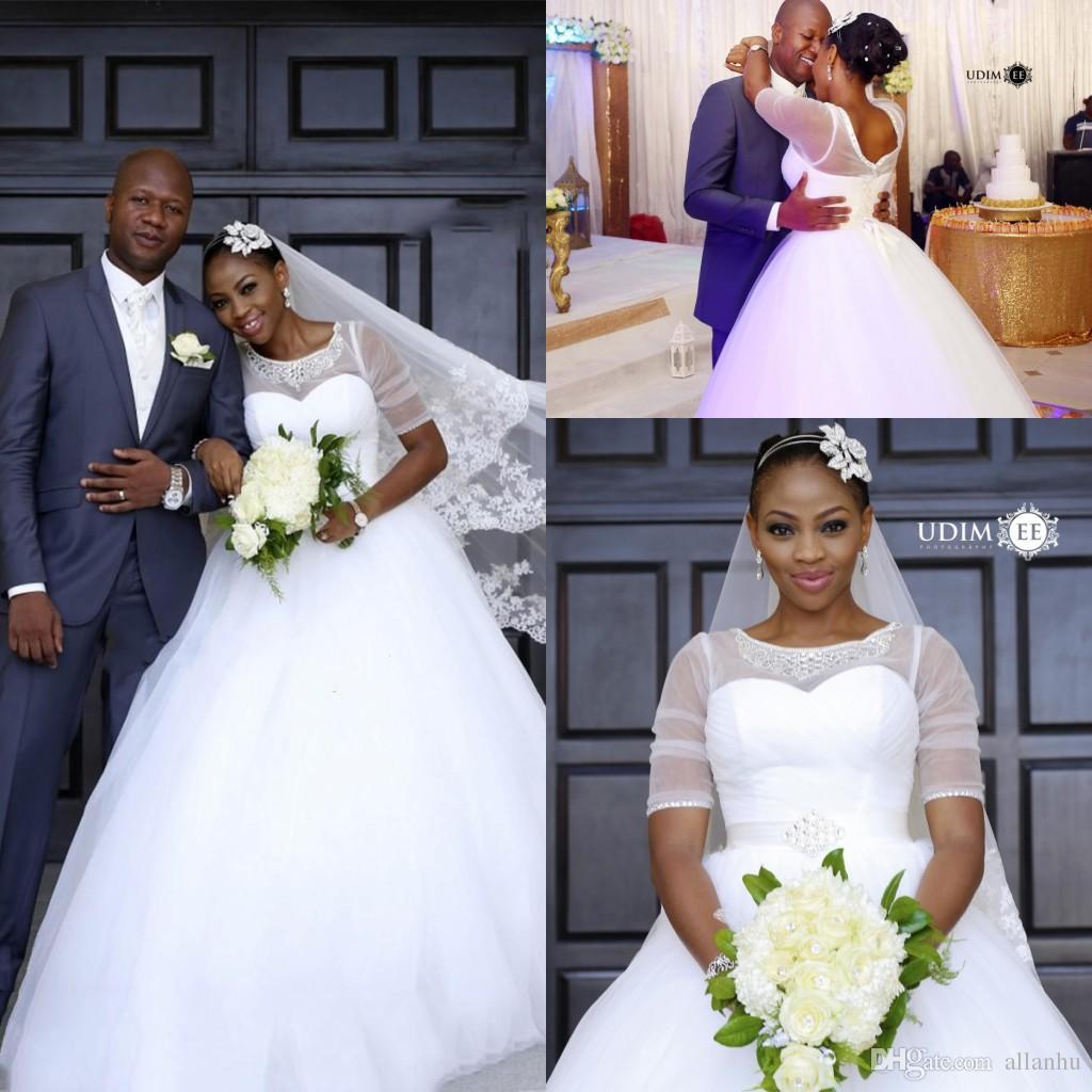 Wedding Gowns South Africa: Vestidos De Casamentos Sul Africano Plus Size Vestido De