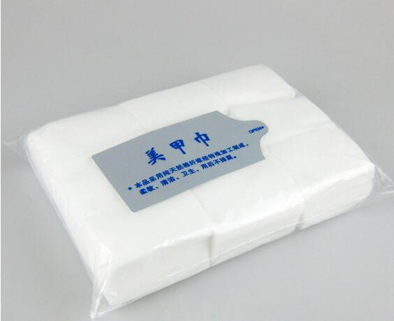 Lint Free Nail Wipes Disposable Nail Art Tips No Skin Irritation High Temperature SterilizationThe Resurrection of Cotton