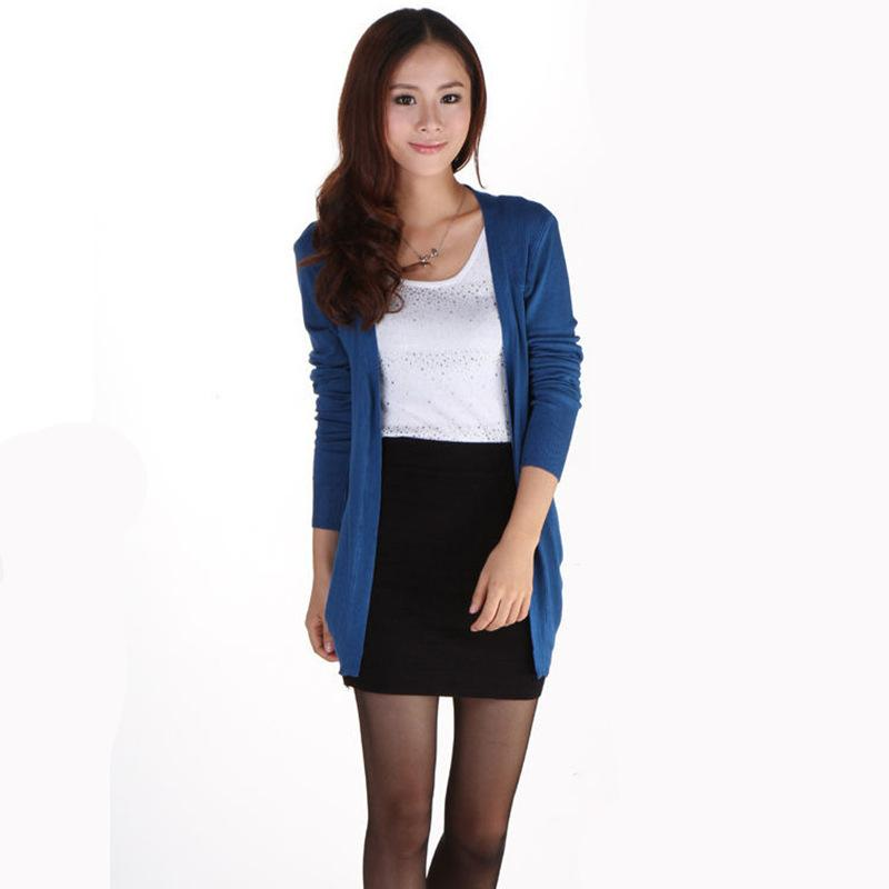 Wholesale- Ladies Candy Color Casual Cardigan Sweater 2017 New ... e23118be3