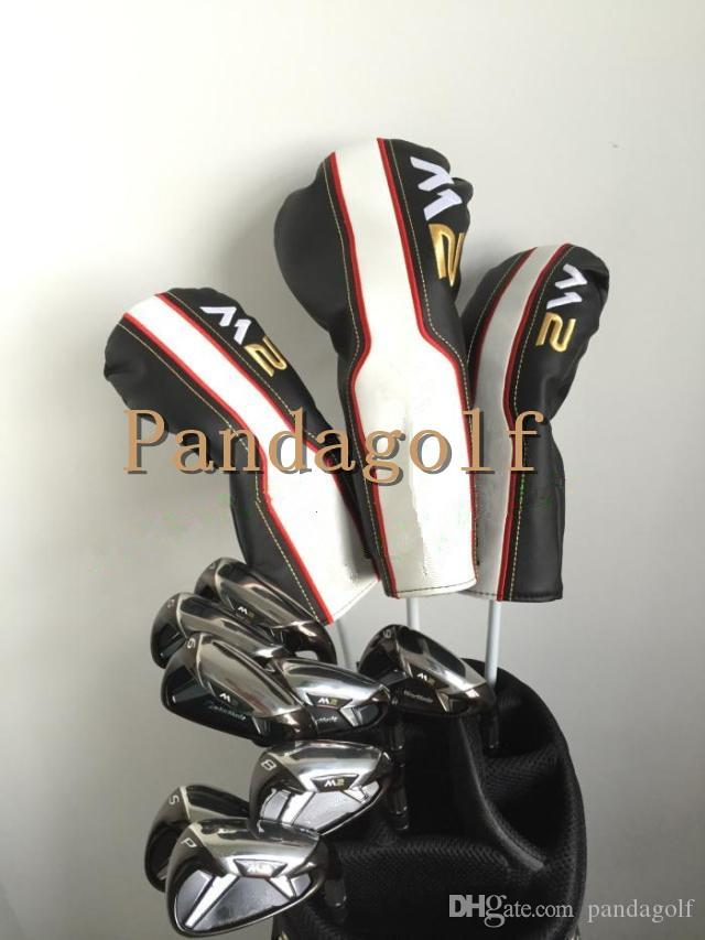 Golf M2 complete set Woods Set Clubs Driver Fairway wood with graphite shaft golf clubs M2 irons full set