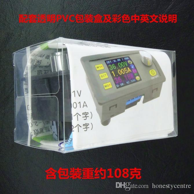 DPS5005 Sabit Gerilim akımı Adım-aşağı Programlanabilir kontrol Güç modülü buck dönüştürücü renkli LCD Ekran voltmetre DP50V5A Yükseltildi