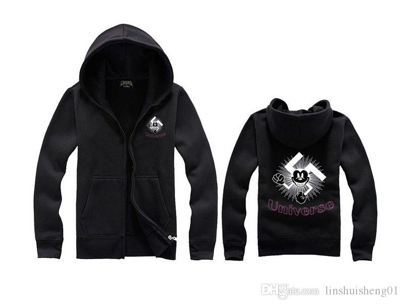 Crooks and Castles hoodies diamond Hoodie hip hop sweatshirts winter suit cotton fleece sweats mens sweatshirt H1