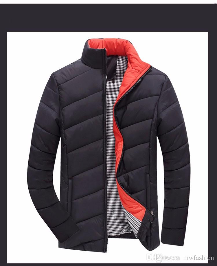 Wholesale 2016 Hot Sale Men Winter Jacket Korean Style Slim Fit ...