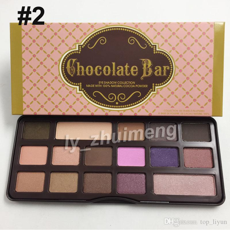 Makeup Chocolate Bar Natural Love Eye Shadow Palette Ultimate Neutral Eye Shadow peach Palette Cosmetics DHL free