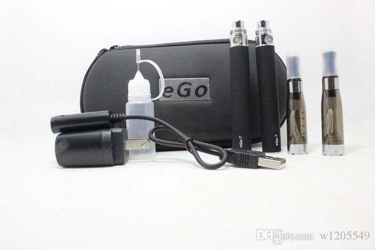 Ego CE4 Kit Electronic Cigarette Starter Kit Ecig E-Cigarette Zipper case 2 Atomizers 2 Battery 650mah 900mah 1100mah