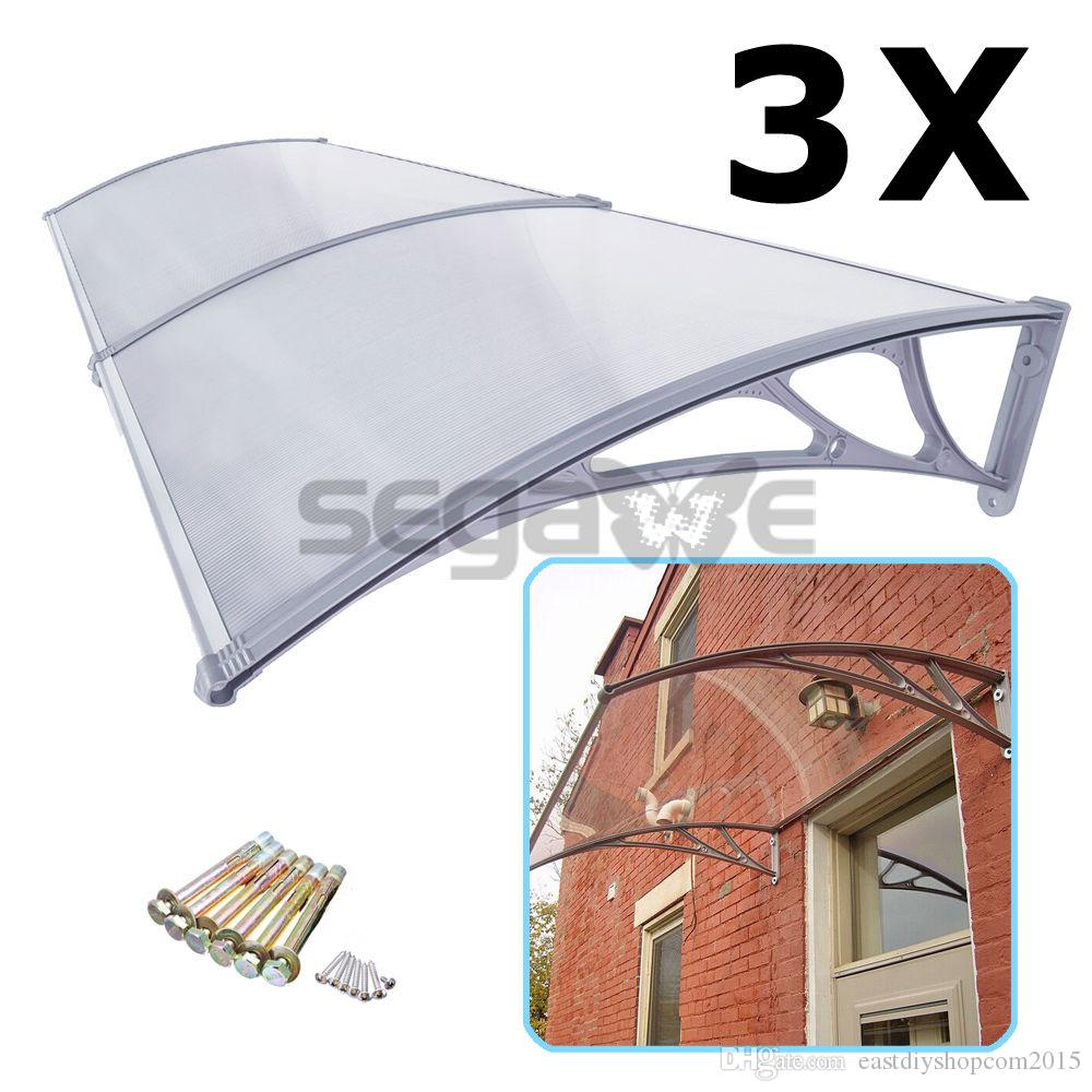 x front door window awning 3x outdoor patio canvas cover canopy from dhgatecom