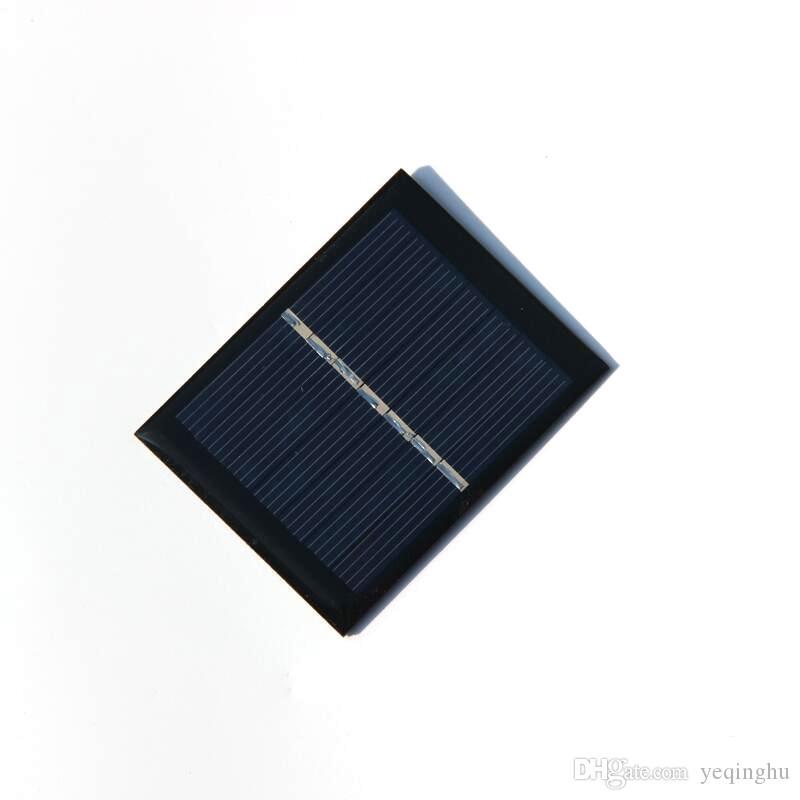 뜨거운 / 부자 0.45W 3.5V 120mA DIY 작은 힘 신청 / 장난감 교육 장비를위한 소형 태양 전지 다결정 태양 전지판