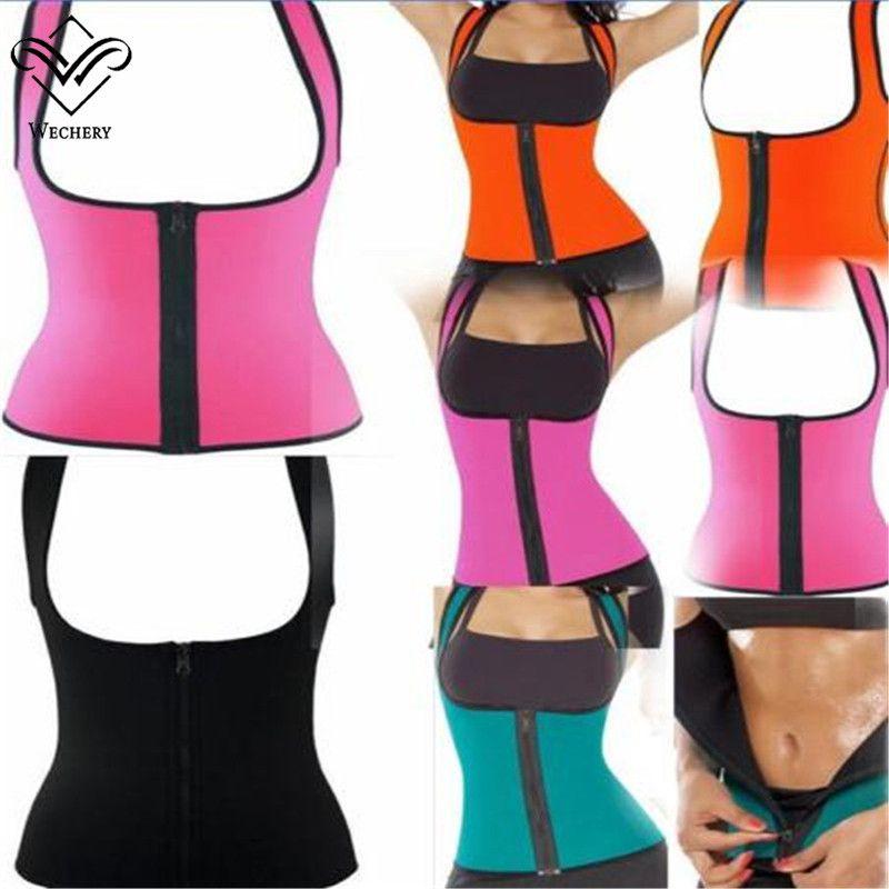 c1366beee74 2019 Waist Trainer Neoprene Hot Shapers Slimming Underwear Body Shaper  Waist Training Waist Cincher Vest Women Slimming Shapewear From Daylight