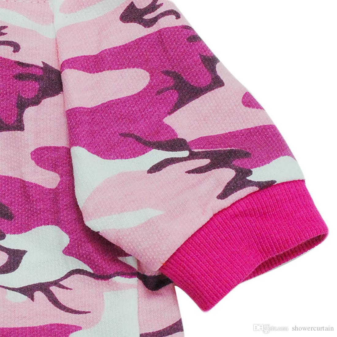 New Arrival Fashion camouflage Pet Sweater Puppy T Shirt Dog Cat Warm Hoodies Coat Clothes Apparelfor Sale Fast