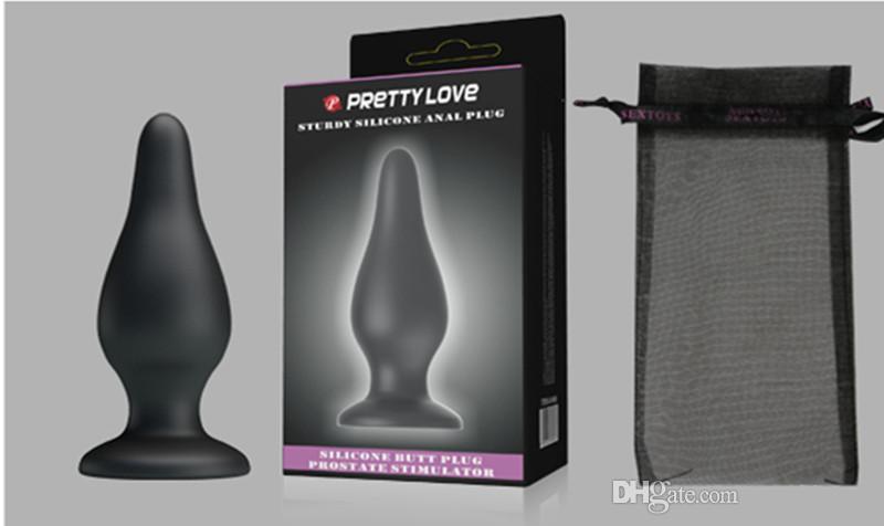女性と男性のためのカップルのためのエロティックな男性のための大人のゲームの大型シリコーンアナルのバットプラグ肛門刺激装置