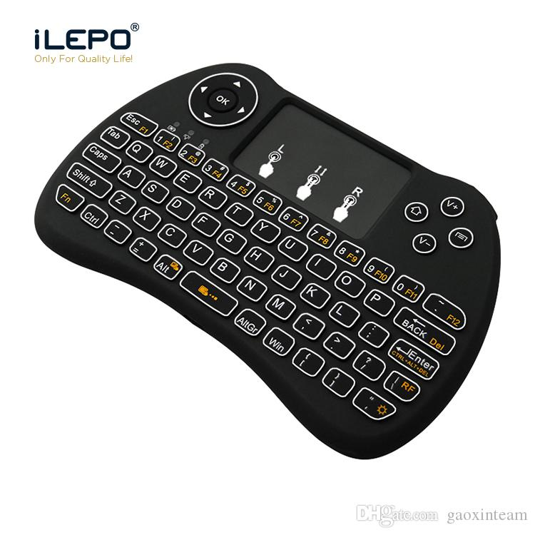 268a7dc56d6 Wireless Mini Keyboard Backlit 15 Meters Remote Control 2.4GHz Air Mouse  Keyboard With Backlit For Smart TV And Mini PC Remote Desktop Tools Remote  Desktop ...
