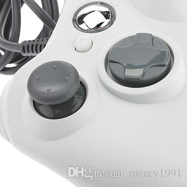 الأصلي السلكية XBOX360 تحكم لعبة إكس بوكس 360 غمبد الأسود سلك USB PC Joypad المقود XBOX360 ملحقات لأجهزة الكمبيوتر المحمول PC الكمبيوتر