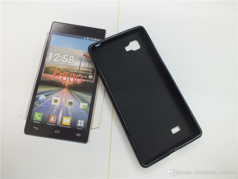 Für HTC U11 X10 U spielte U Ultra Wunsch 830 Wunsch 630 LG Optimus 4X HD P880 Anti Skid weichen TPU Fall-Silikon-Gel-Abdeckung weicher Kunststoff-Telefon-Kasten
