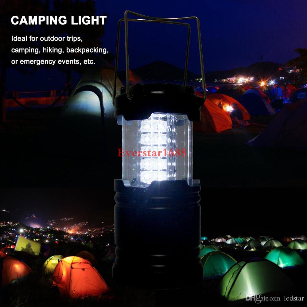 Супер Яркий Портативный Фонарь На Открытом Воздухе Для Кемпинга 30 LED Свет Кемпинга Для Рыбалки Складная Туристическая Палатка Лампа Рыбалка