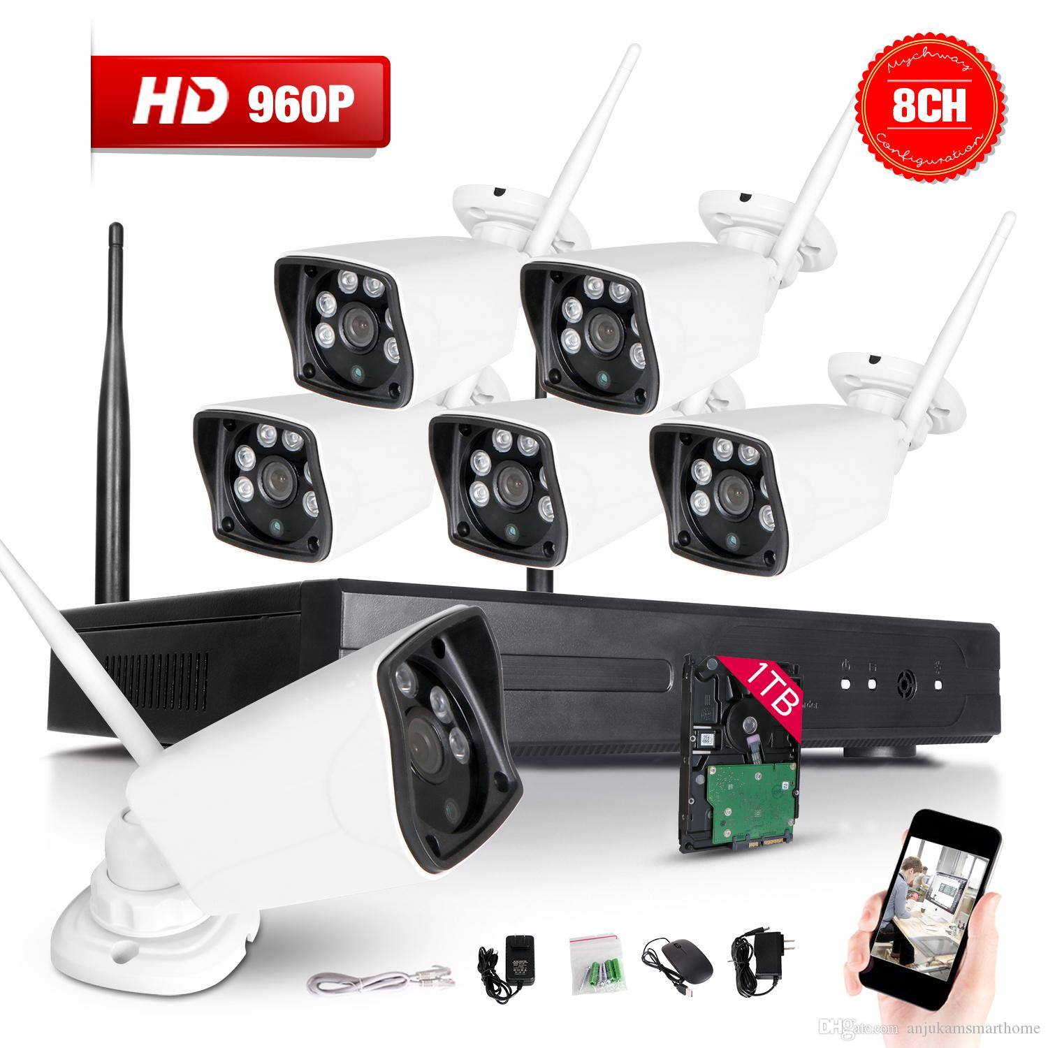 Discount 8ch 960p Nvr Wireless Cctv Security Camera System ...