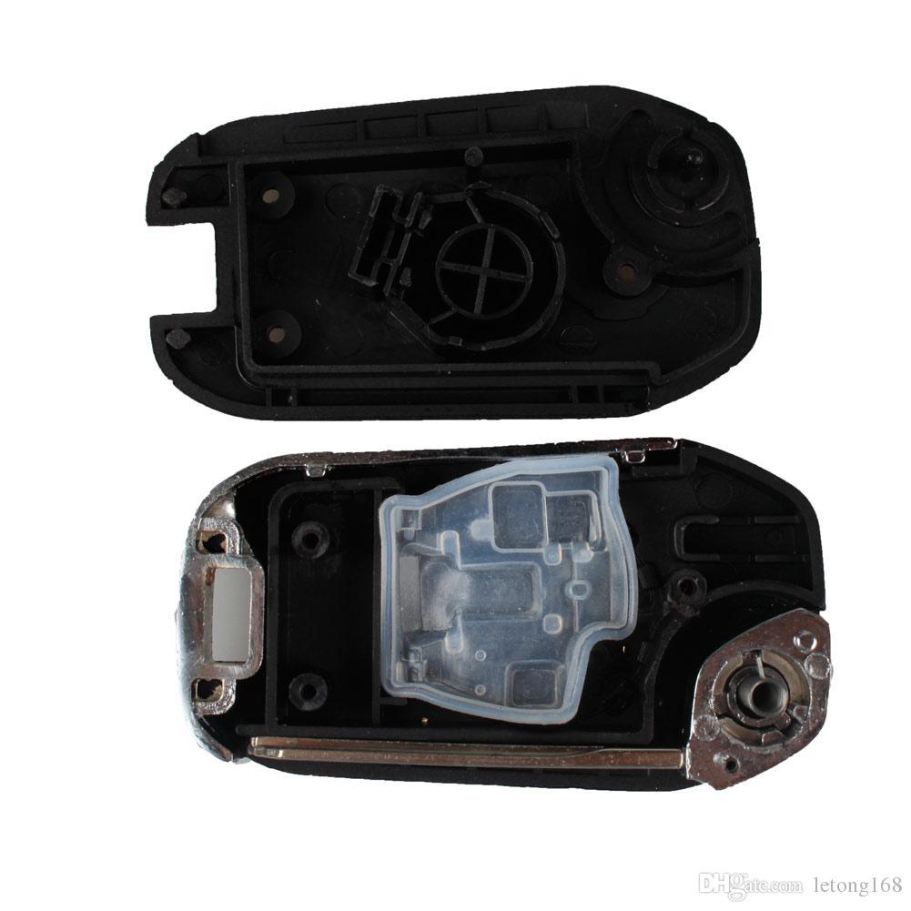보장 100 % 자동차 접는 키 쉘 원격 키 FOB 케이스 키 블레이드 무료 배송 닛산 Micra 큐브 참고 Qashqai Juke