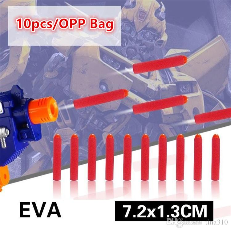 Wholesale - direct selling electric toy gun soft toys bullet general parts new point soft EVA foam toys bullets Sports Toys 4141-3