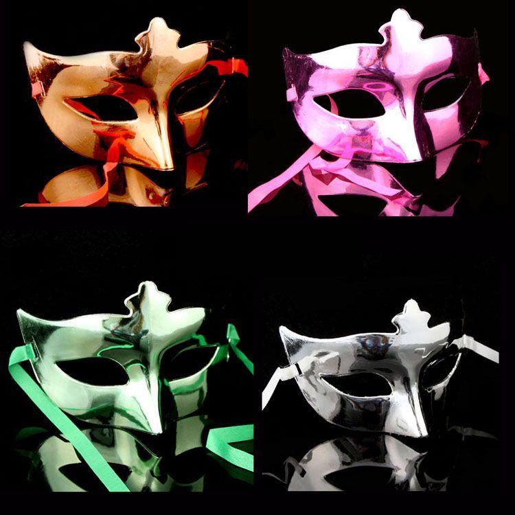 Vénitien LadiesGirl Eye Mask Costume Masque de mascarade Halloween Costume Mardi Gras Party masque couleurs assorties
