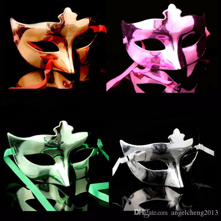 Venetian LadiesGirl Eye Mask Fancy Dress Máscara Máscara Masquerade Halloween Costume do partido do carnaval cores sortidas