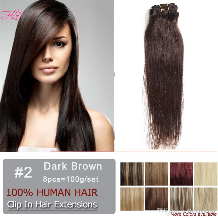 100g clip in human hair extensions set 20inch 22inch top quality see larger image pmusecretfo Choice Image