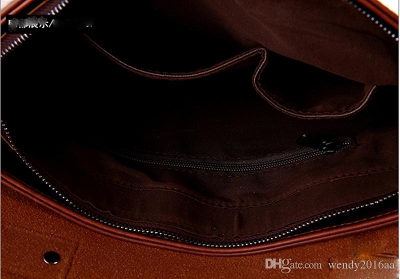 2017 nuevos bolsos de los hombres de Desinger bolsos cruzados del bolso de mensajero del hombro del crossbody solo maletín