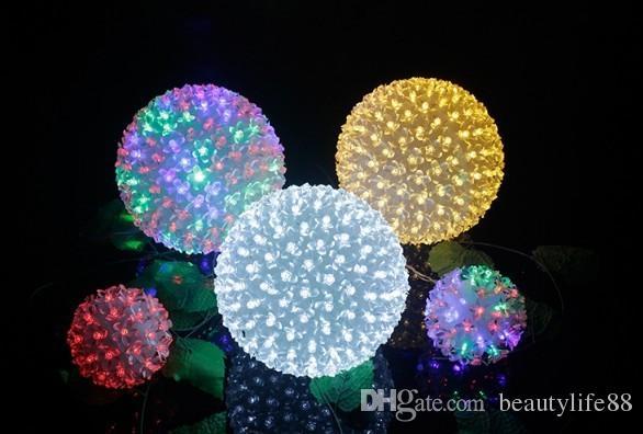 الصمام زهرة الكرة مصباح الكرز الكرة مصباح الحاجبين Xiuqiu أضواء فلاش أضواء سلسلة الأنوار عيد الميلاد أضواء الكرة الكرة الزخرفية