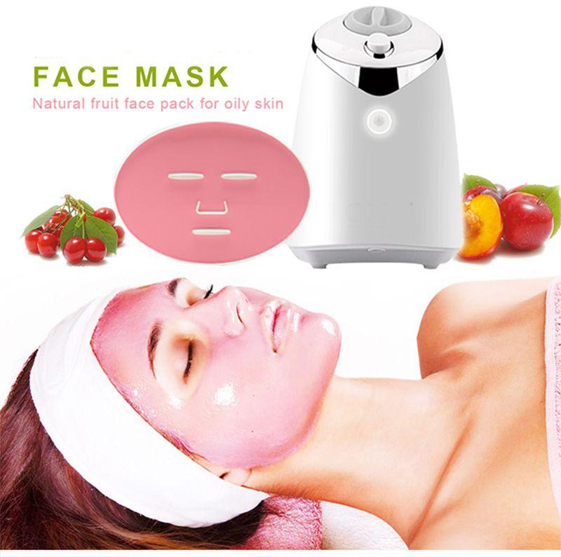 FM001 Maschera Macchina automatica di frutta Maschera il viso creatore DIY naturale Vegetale maschera al collagene pillola voce inglese Cura della pelle
