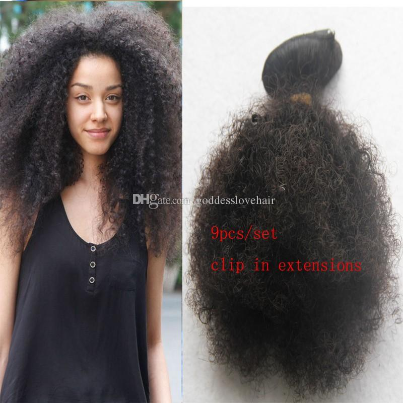 Cheap mongolian afro kinky curly virgin hai african american clip cheap mongolian afro kinky curly virgin hai 9pcslot african american clip in human hai extensions natural black 12 14 16 18 20 22 28 pmusecretfo Image collections