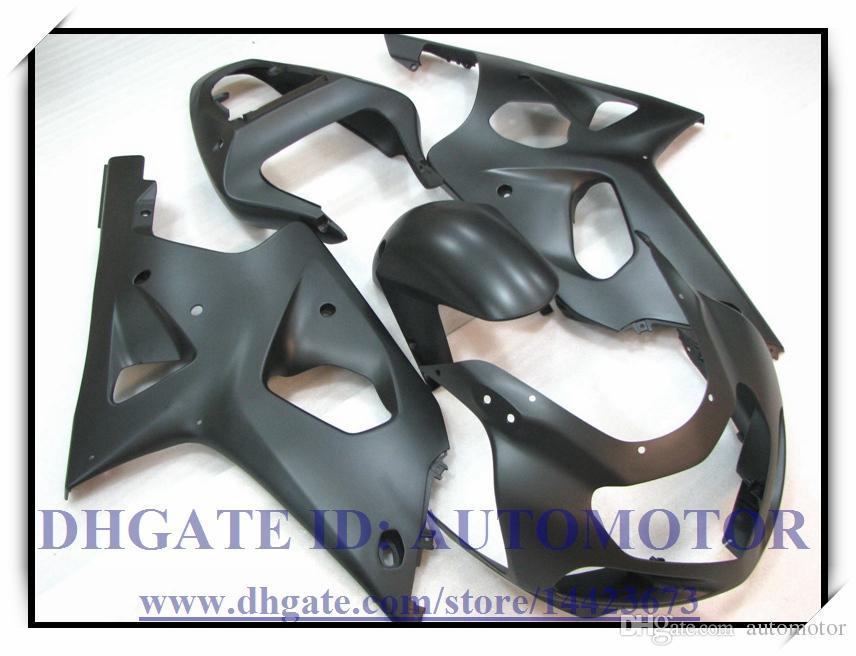 Injection 100% brand new fairing kit fit for Suzuki GSXR1000 2000 2001 2002 GSX-R1000 00 01 02 GSXR 1000 00 01 02 #LW824 ALL BLACK