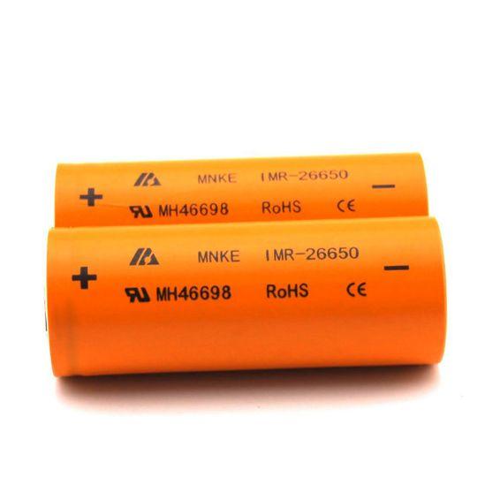 MNKE 26650 Flashlight Battery 3.7V 3500mAh High Capacity Rechargeable Li-ion Battery Fit LED Flashligh Vaporizer Mods Fedex Ship