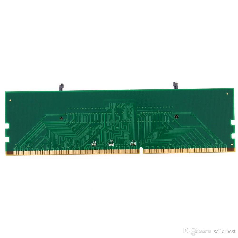 DDR3 Laptop SO-DIMM to Desktop DIMM Memory RAM Connector Adapter Protective Card DDR3