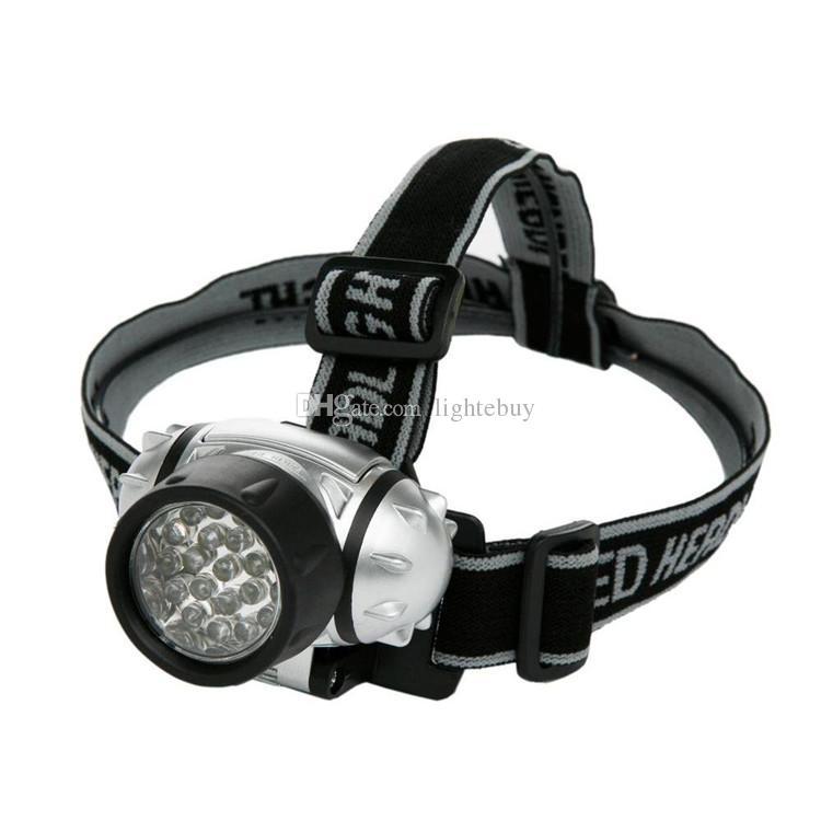 Le meilleur Éclairage portatif étanche 21 Led phare lumière randonnée en plein air phares phares LED phare feux de camping phares de pêche lampe de poche