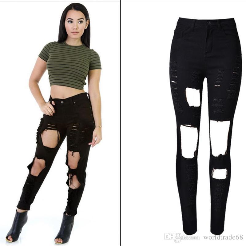 Buy Cheap Women's Jeans For Big Save, Sexy Big Holes ...