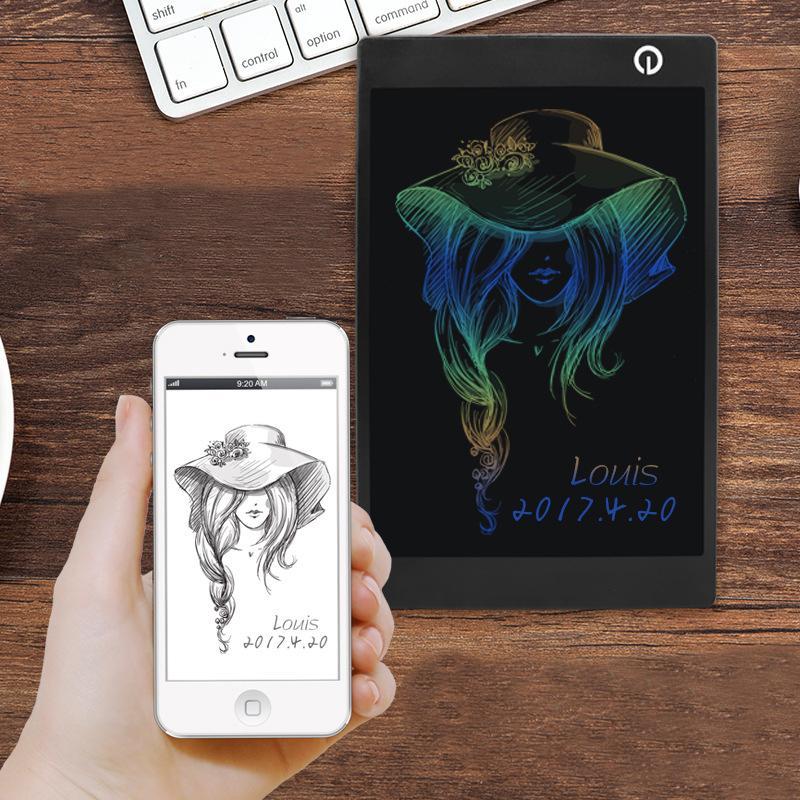 2017 nouvelle arrivée 9.7 pouces Coloré LCD Écriture conseil numérique écriture tablette écriture manuscrite dessin pad graphique tablette pour dessin