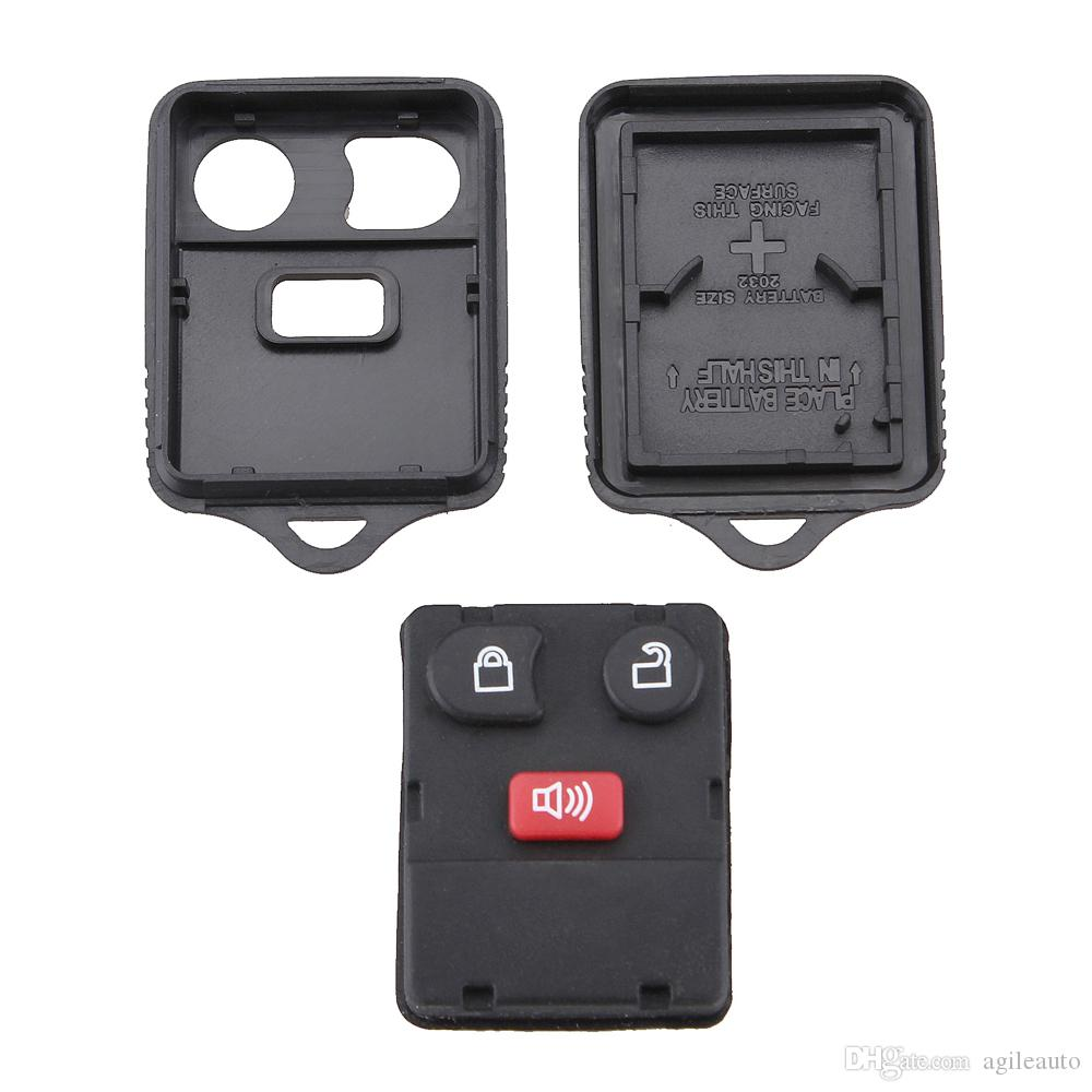 Wholesale Black 3 Buttons Keyless Entry Replacement Key Remote Fob Shell Case for Ford CIA_40R