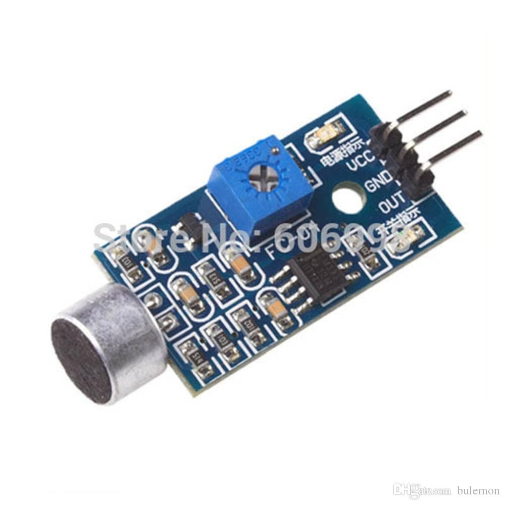 2019 Microphone Sound Sensor Module Voice High Sensitivity Arduino Circuit Detection Whistle For From Bulemon 604